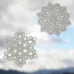 WASHI DECO SNOWF