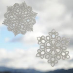 WASHI DECO SNOWF 2